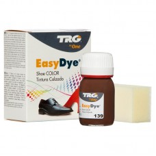 Medium Brown Easy Leather Dye Kit including Preparer by TRG the One