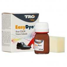 Deep Brown Easy Leather Dye Kit including Preparer by TRG the One