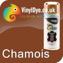 TRG Chamois Vinyl Dye Plastic Paint Aerosol 150ml