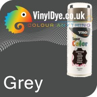 TRG Grey Vinyl Dye Plastic Paint Aerosol 150ml 319