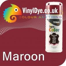 TRG Maroon (Cerise / Red) Vinyl Dye Plastic Paint Aerosol 150ml