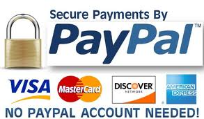 Secure Payments - No PayPal Account Needed